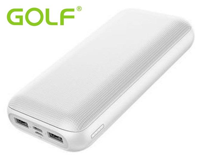 10000mA Външна батерия GOLF G53 TipC,бяла