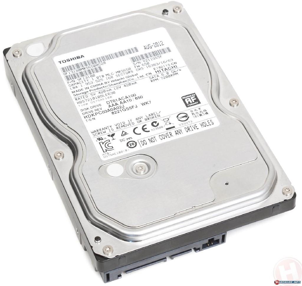 2 TB SATA III 64MB Toshiba DT01ACA200