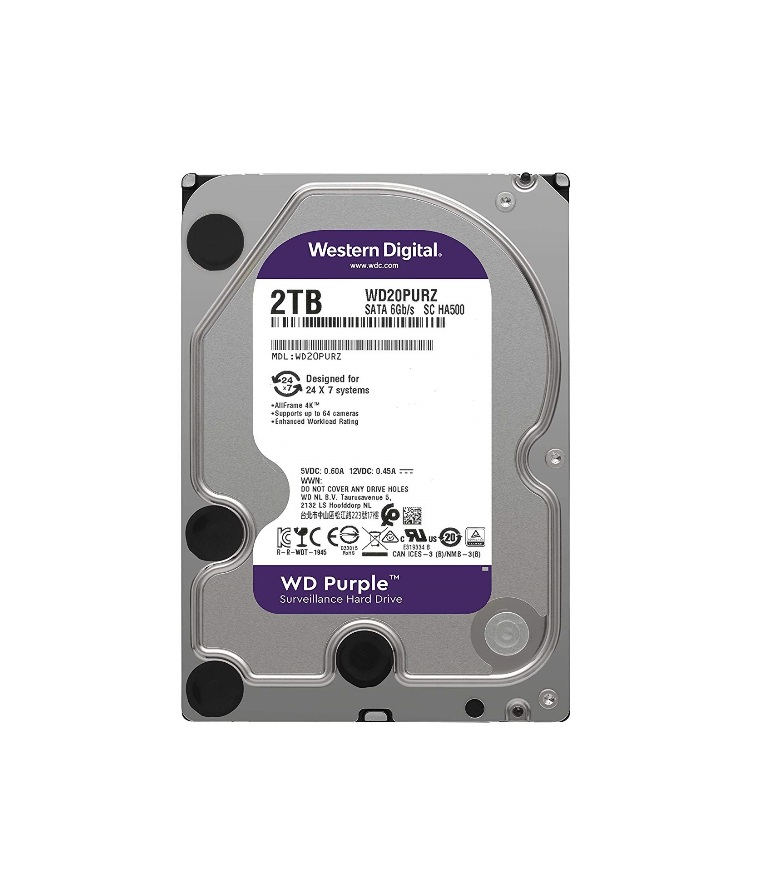 2 TB SATA III 64MB WD Purple WD20PURZ