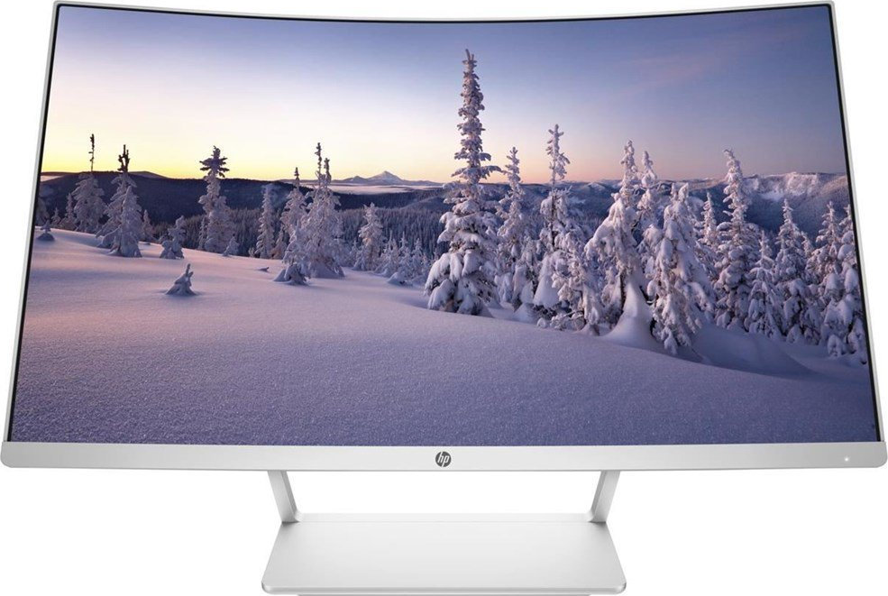 27`` HP Z4N74AA Curved VA Led White