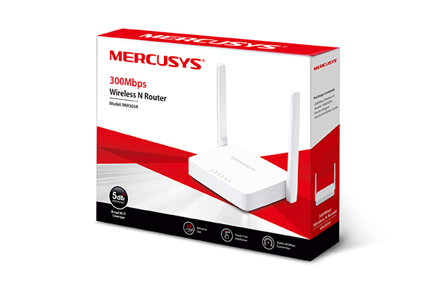 300Mbps MERCUSYS MW305R Безжичен рутер