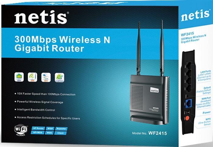 300Mbps Netis WF2415 Безжичен рутер