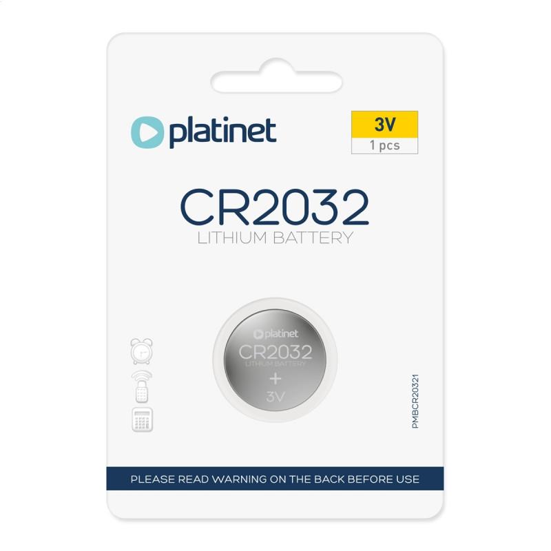3V 1бр. Lithium 55mAh Platinet CR 2032