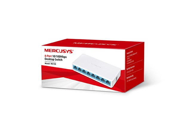 8port 10/100Mbps Switch Mercusys MS108