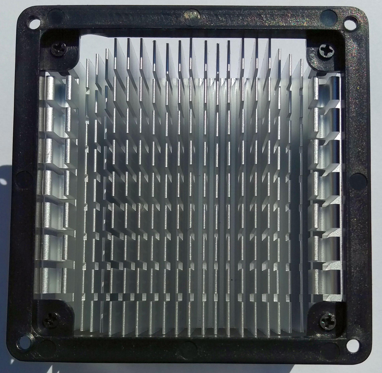 Алуминиев радиатор, 82х70хH40 без вентилатор