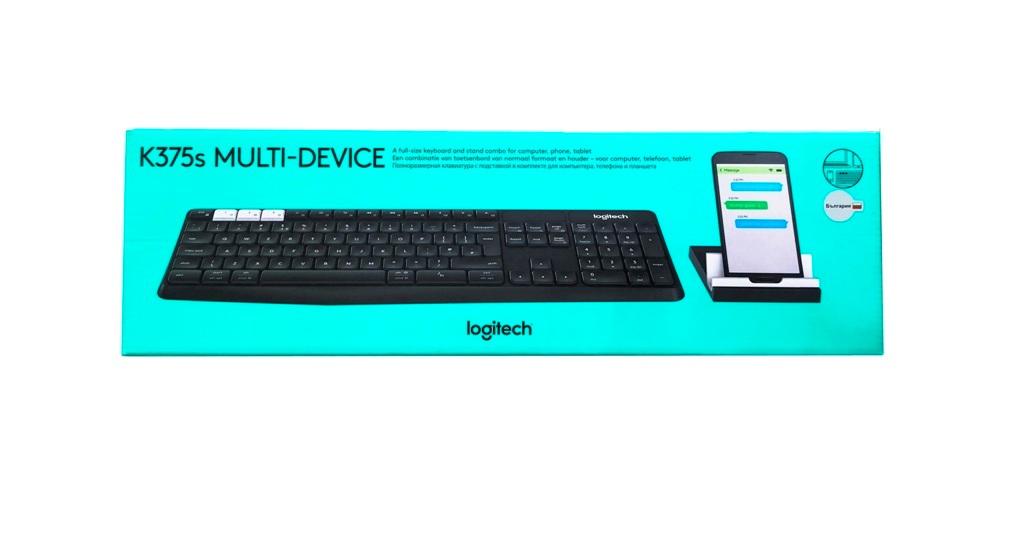 Безжична клавиатура Logitech K375s BG