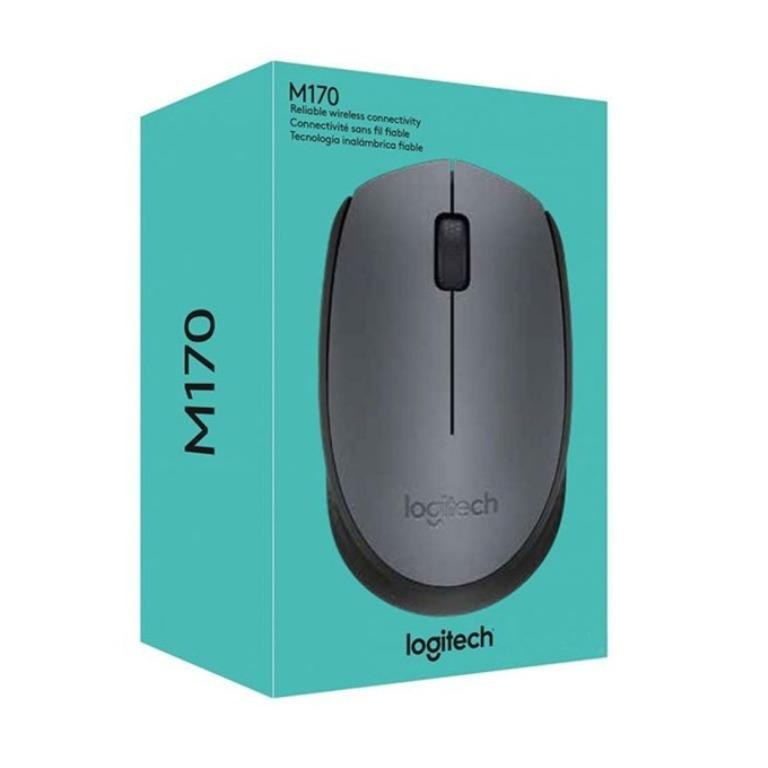 Безжична мишка Logitech M170, Сива