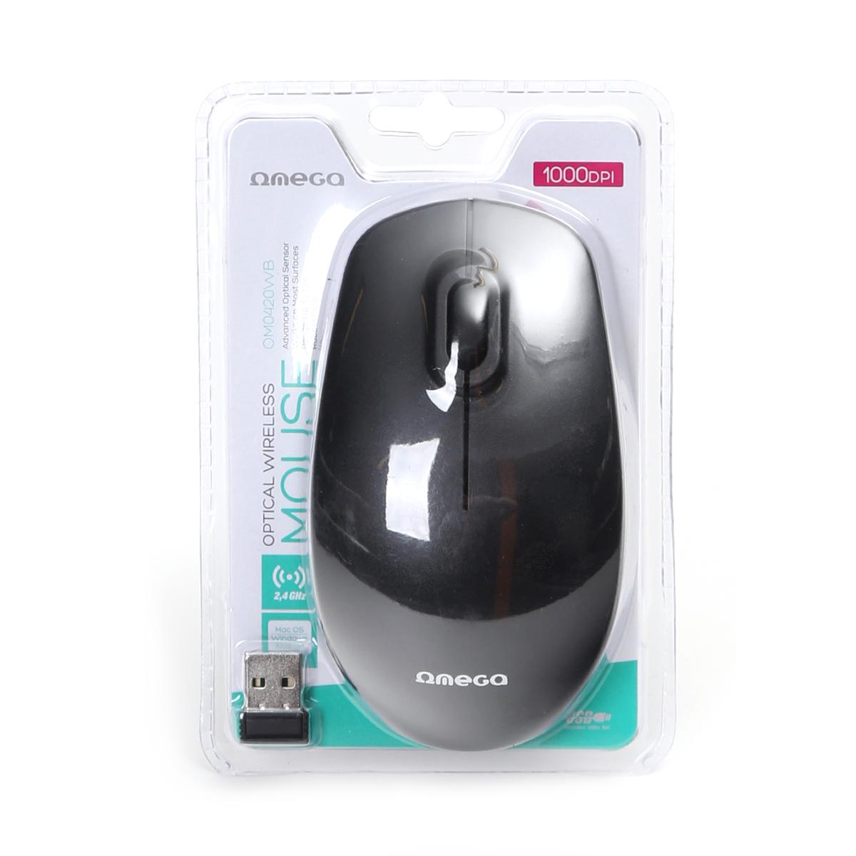 Безжична мишка Omega OM0420WB