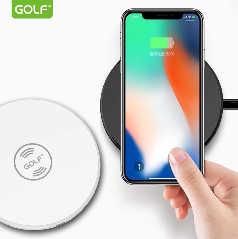 Безжично зарядно устройство Golf WQ3 White