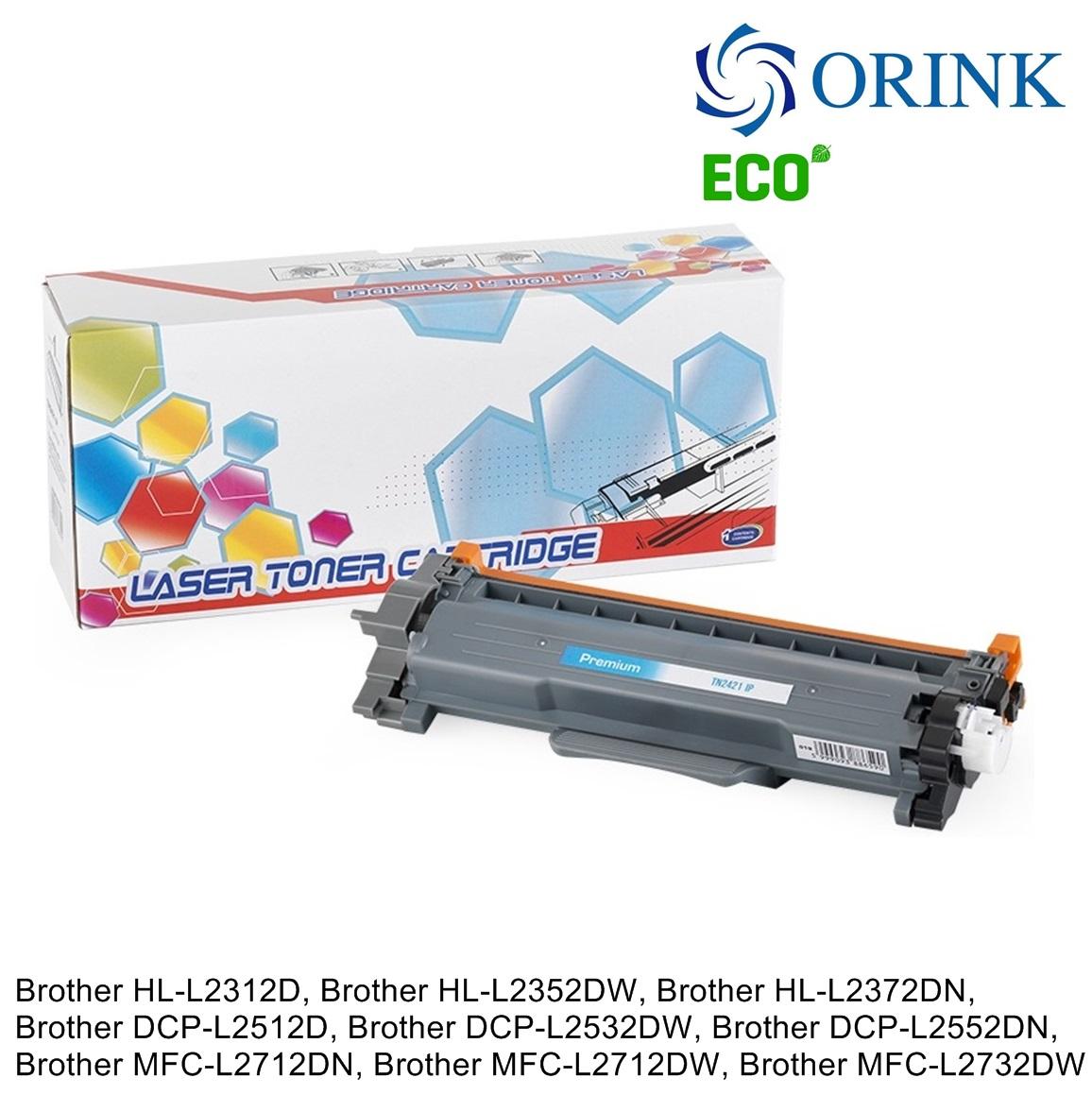 Brother TN-2421 (3K) ORINK ECO Касета