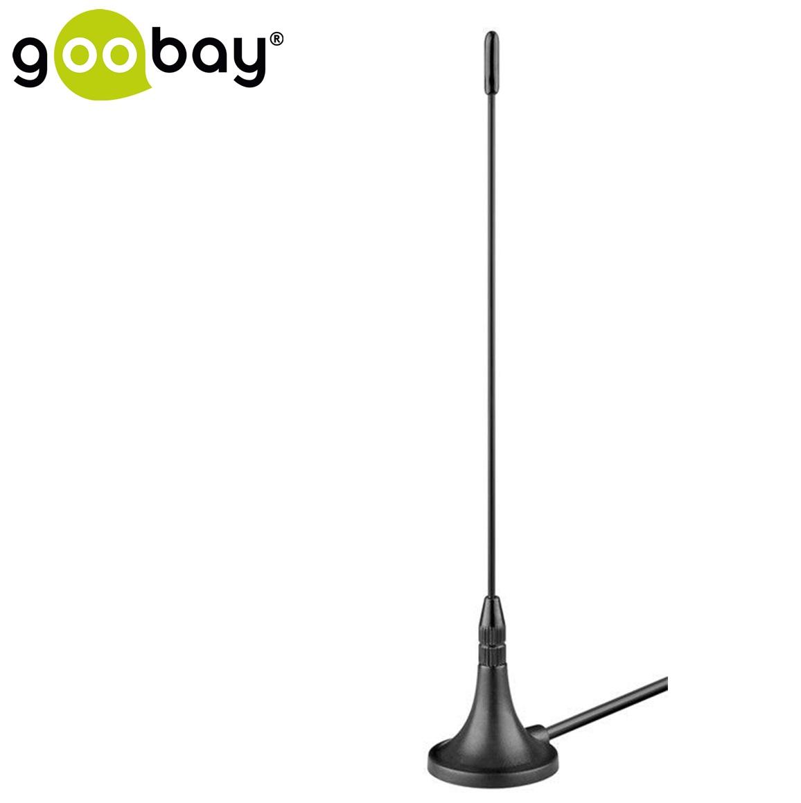 DVB-T Пасивна магнитна антена GOOBAY 67090