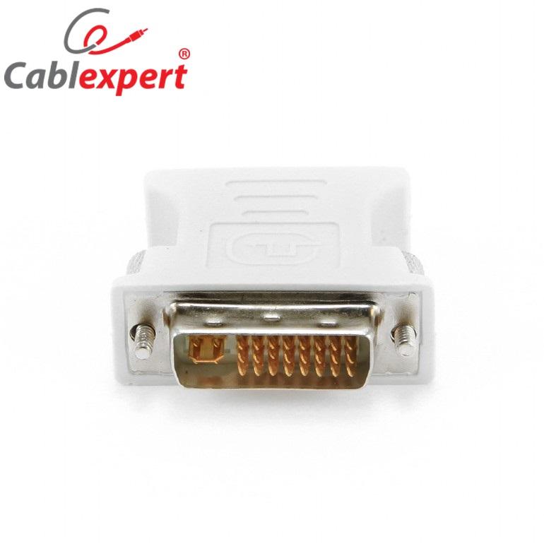DVI-I 24+5 M to VGA 15-pin F Cablexpert