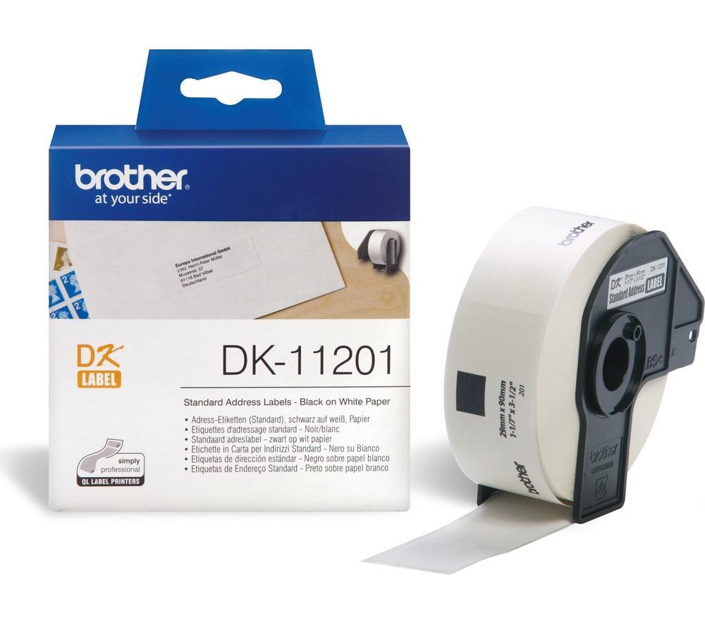 Етикети Brother DK-11201, 29мм x 90мм