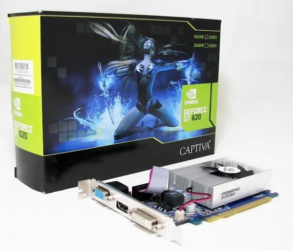 GeForce GT 620 1GB DDR3 64bit Captiva