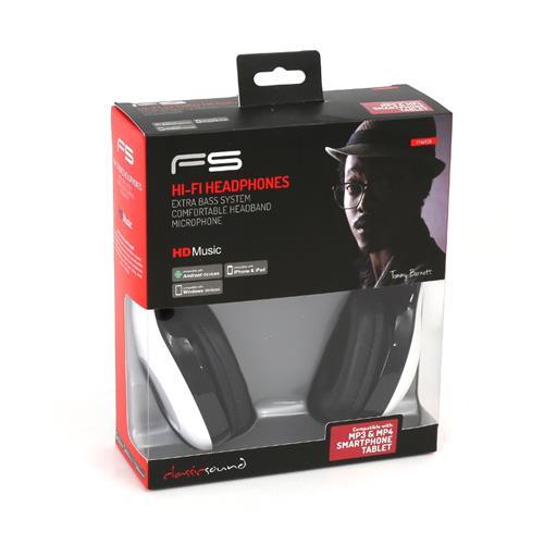 Геймърски слушалки FREESTYLE FH4920W,бели, мик