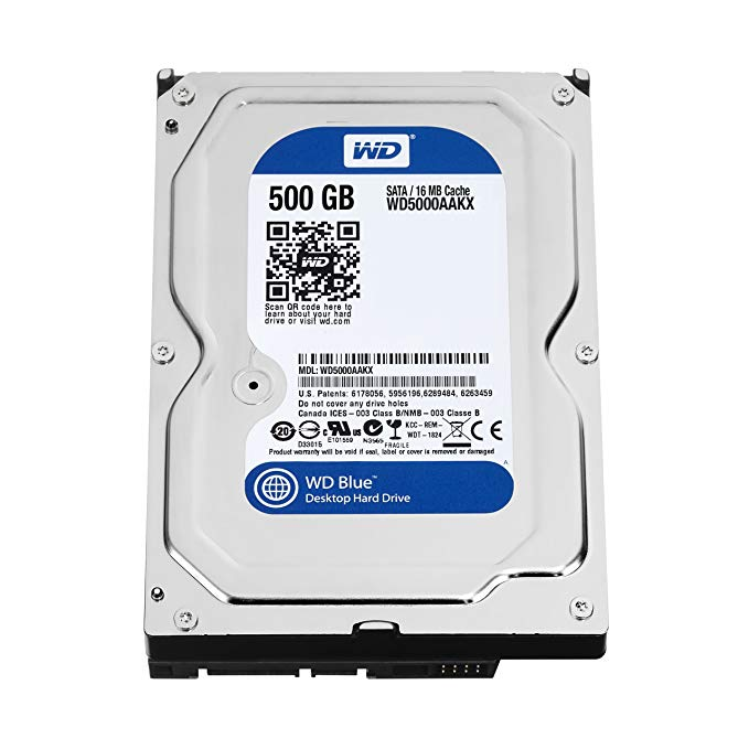 Хард Диск 3.5` SATA 500Gb Western Digital
