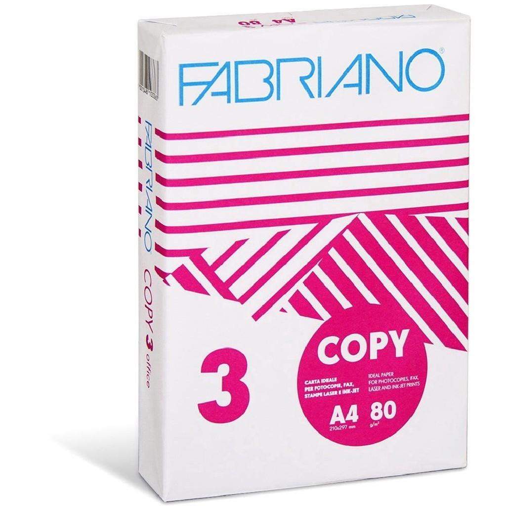 Хартия Fabriano A4, 500 листа в пакет, 80g/m