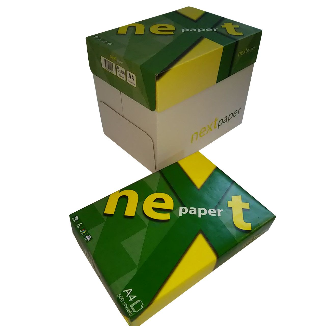 Хартия NextPaper A4, 500 листа в пакет, 80g/m