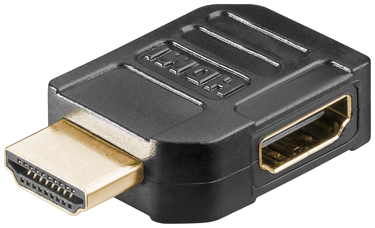 HDMI-F to HDMI-male 90° Adapter GOOBAY 51724