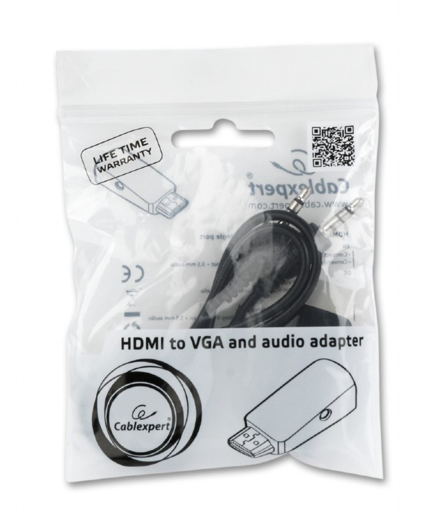 HDMI to VGA and audio adapter Cablexpert