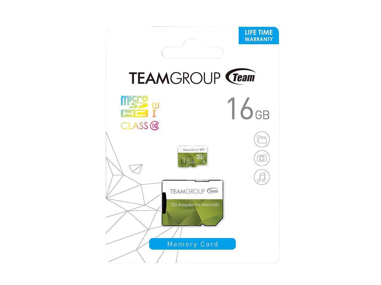 Карта памет  16 GB Team Group SDHC Micro,CL10