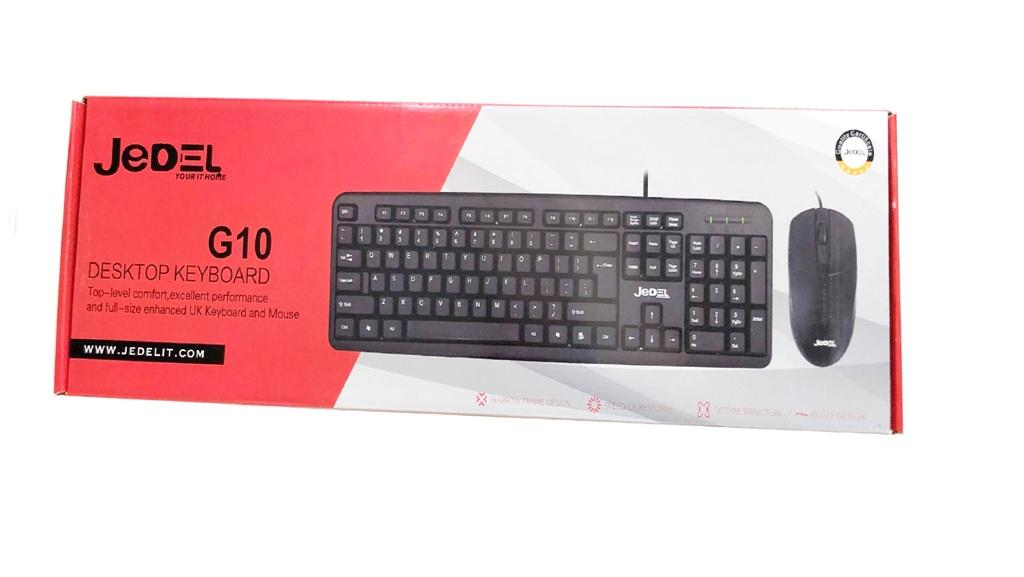 Клавиатура с мишка Jedel G10,BG/БДС