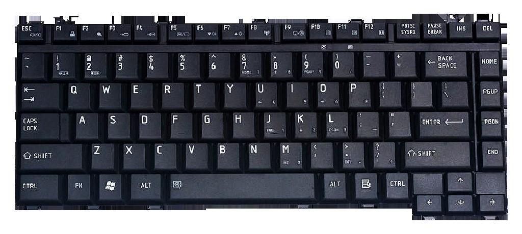 Клавиатура Toshiba A200 A300 M300 L300 L305