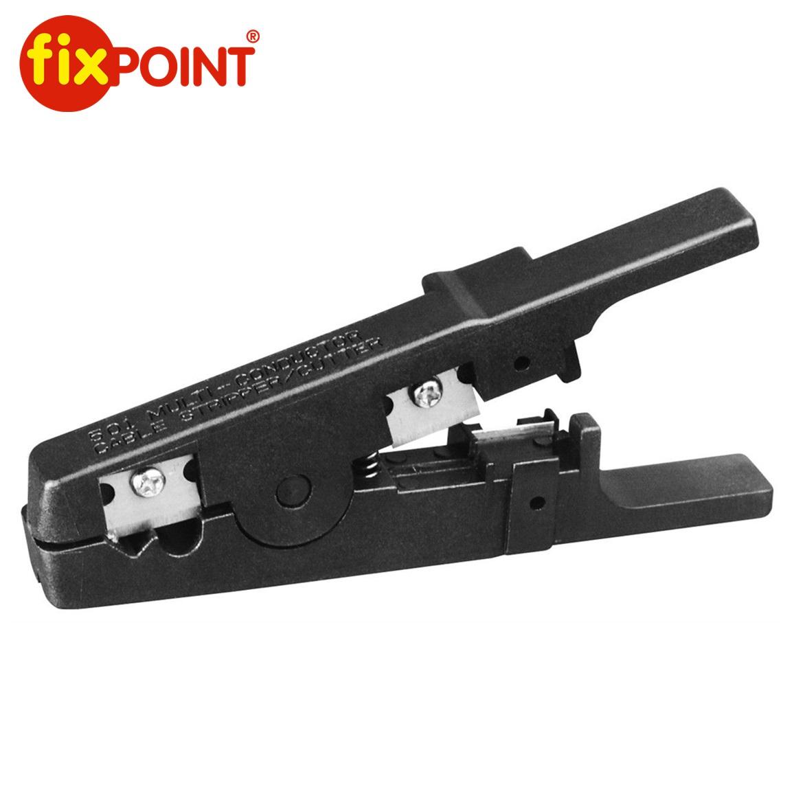 Клеща за оголване кабели FIXPOINT 11945