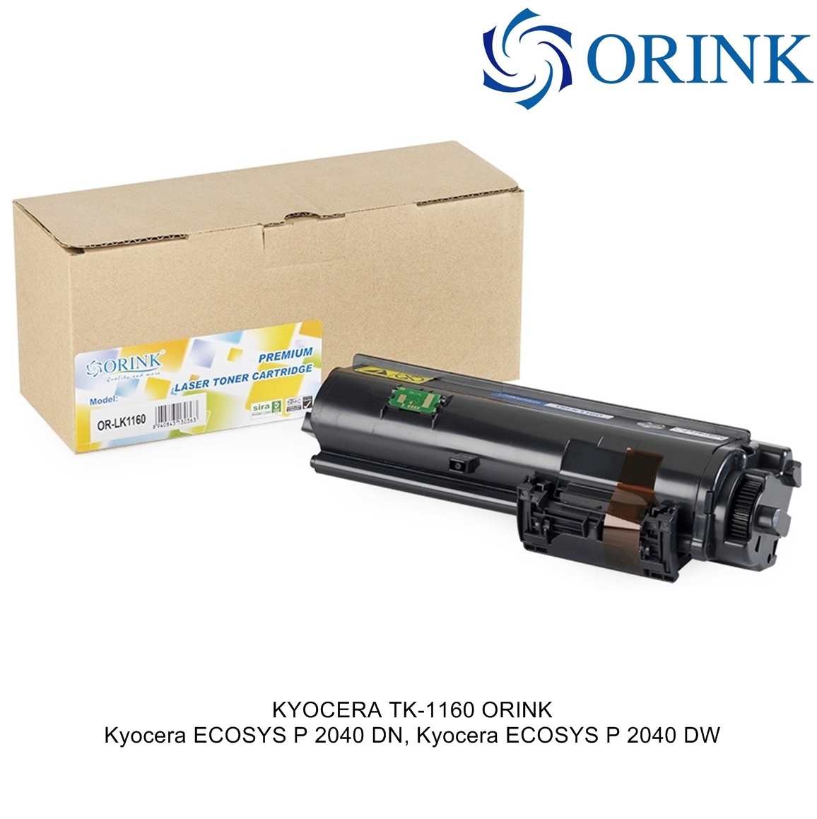 KYOCERA TK-1160 (7.2K) ORINK Тонер Касета