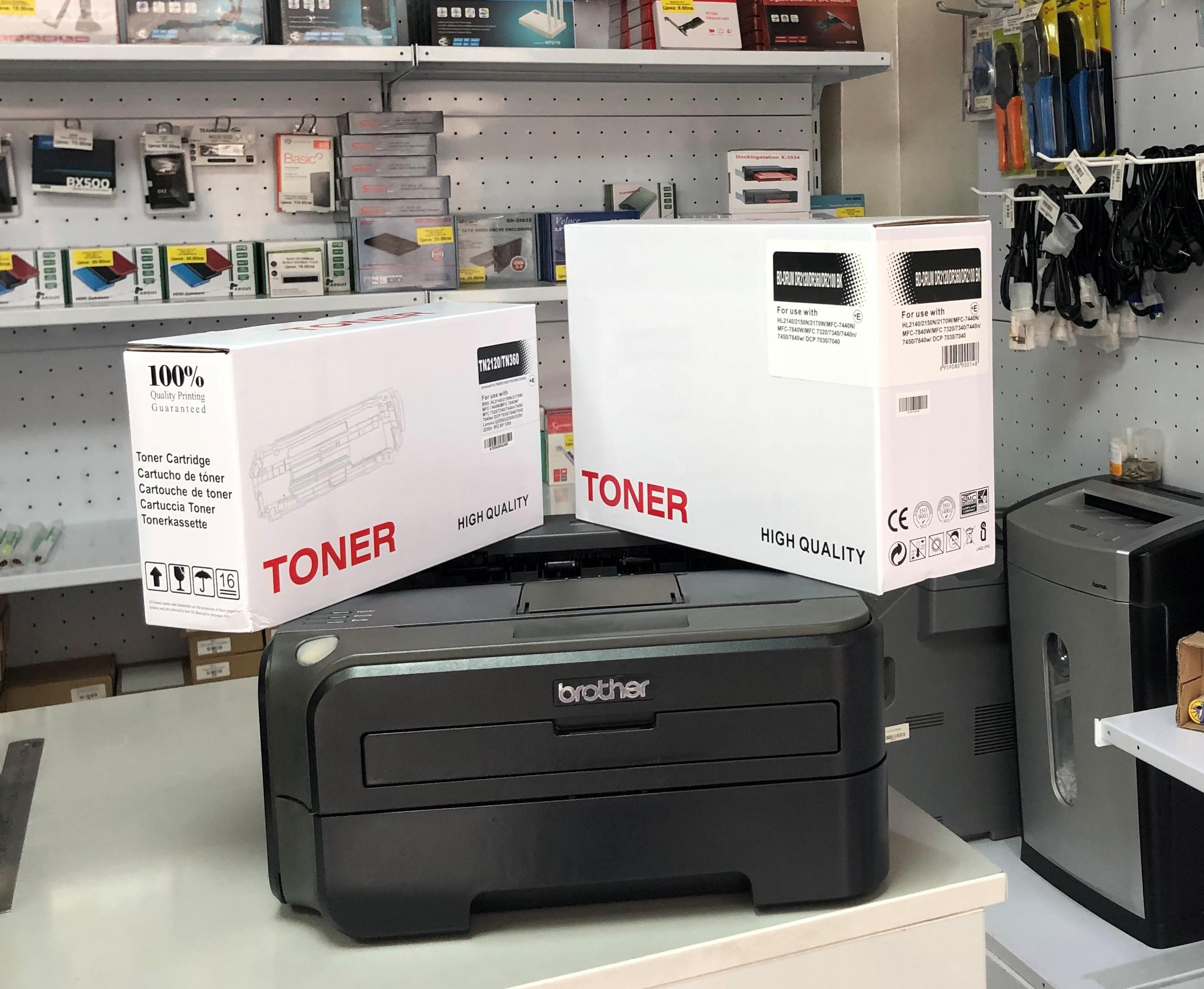 Лазерен принтер Brother HL-2150N