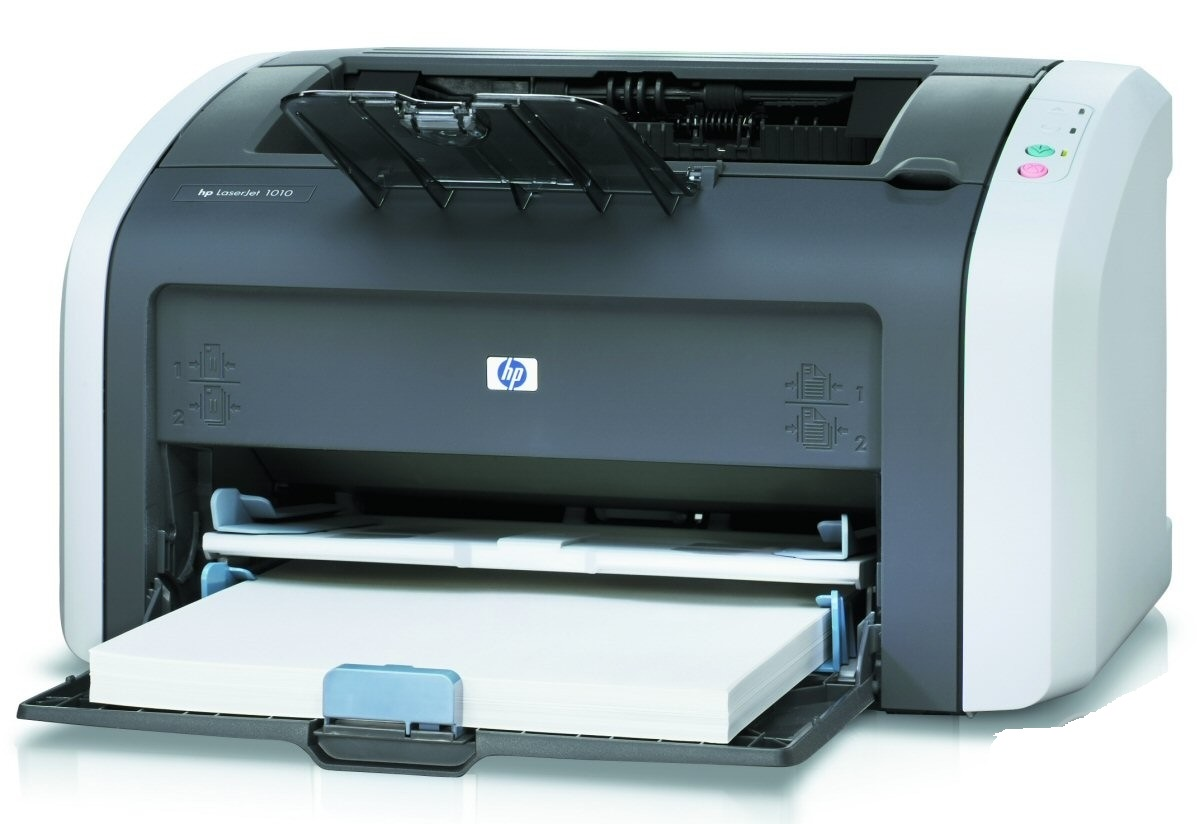 Лазерен принтер HP 1010 +(нова тонер касета)