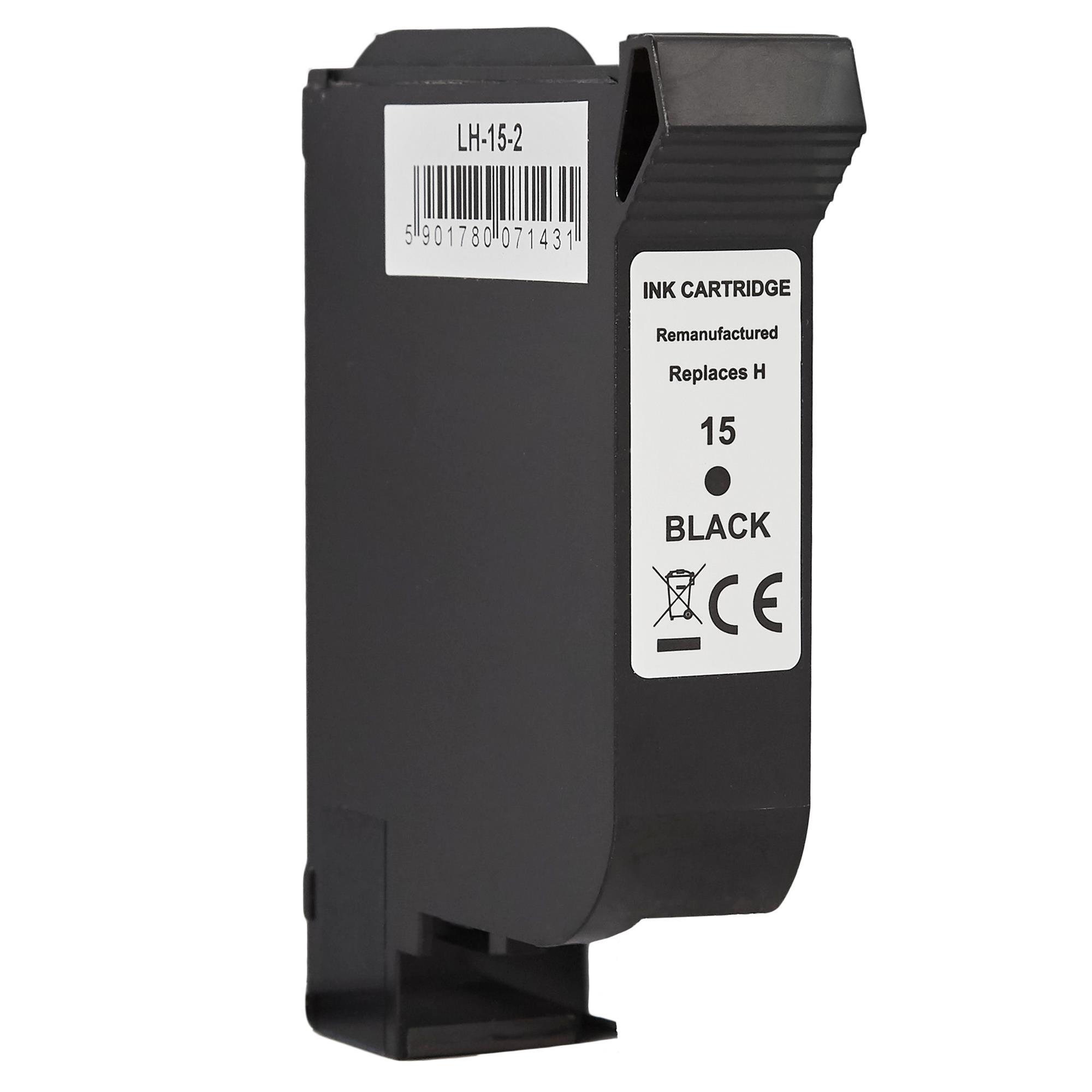 Мастилница HP 15XL Black (C6615DE) С-ма
