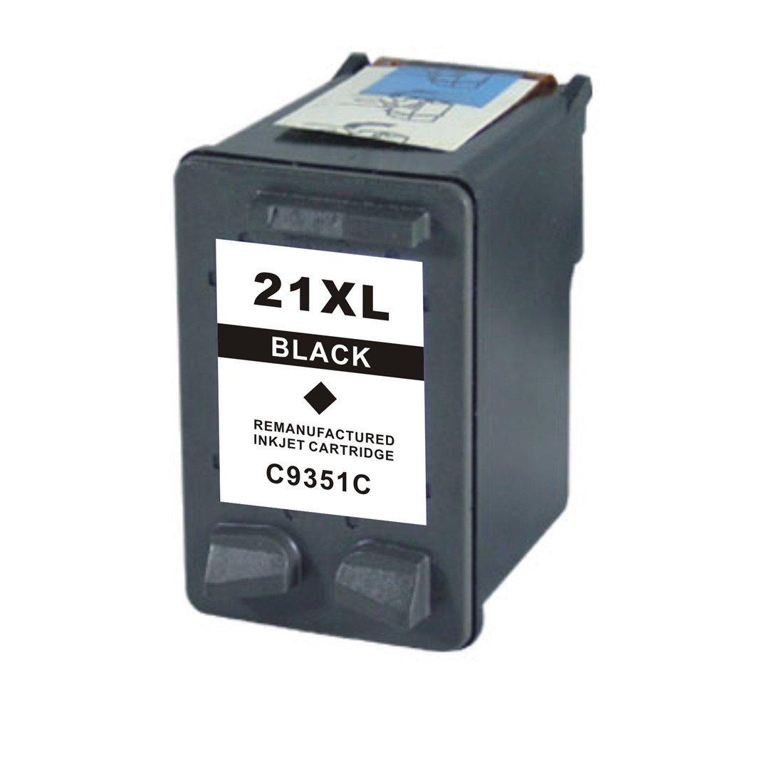 Мастилница HP 21XL Black C9351CE С-ма