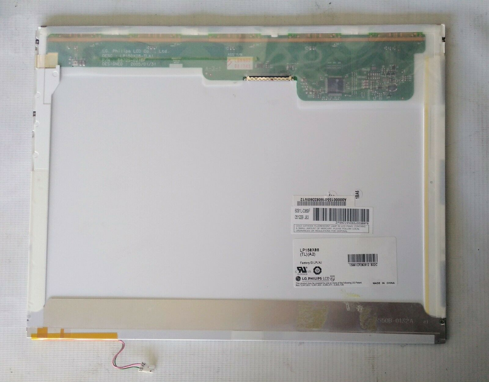 """Матрица 15.0""""  LG PHILIPS LP150X08(TL)(A2)"""