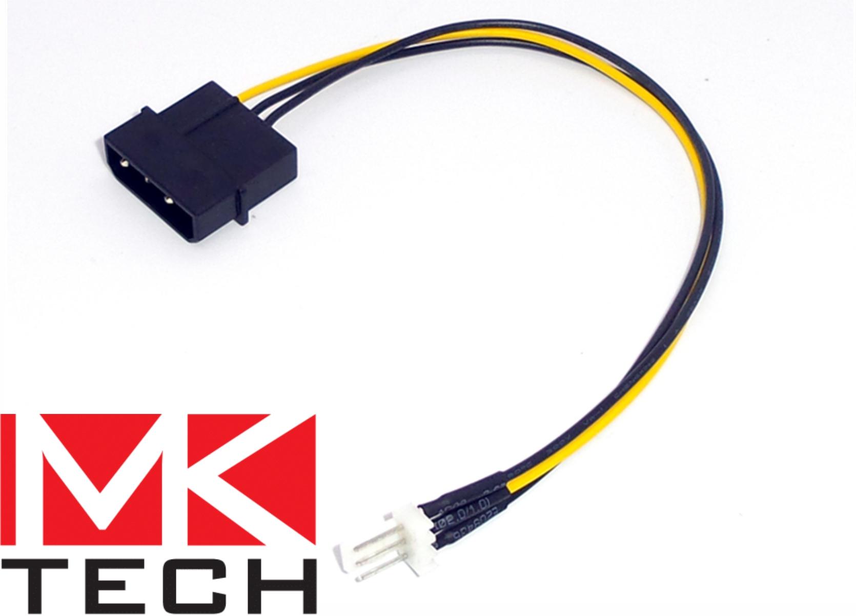 Molex to 3-pin Fan MKTECH