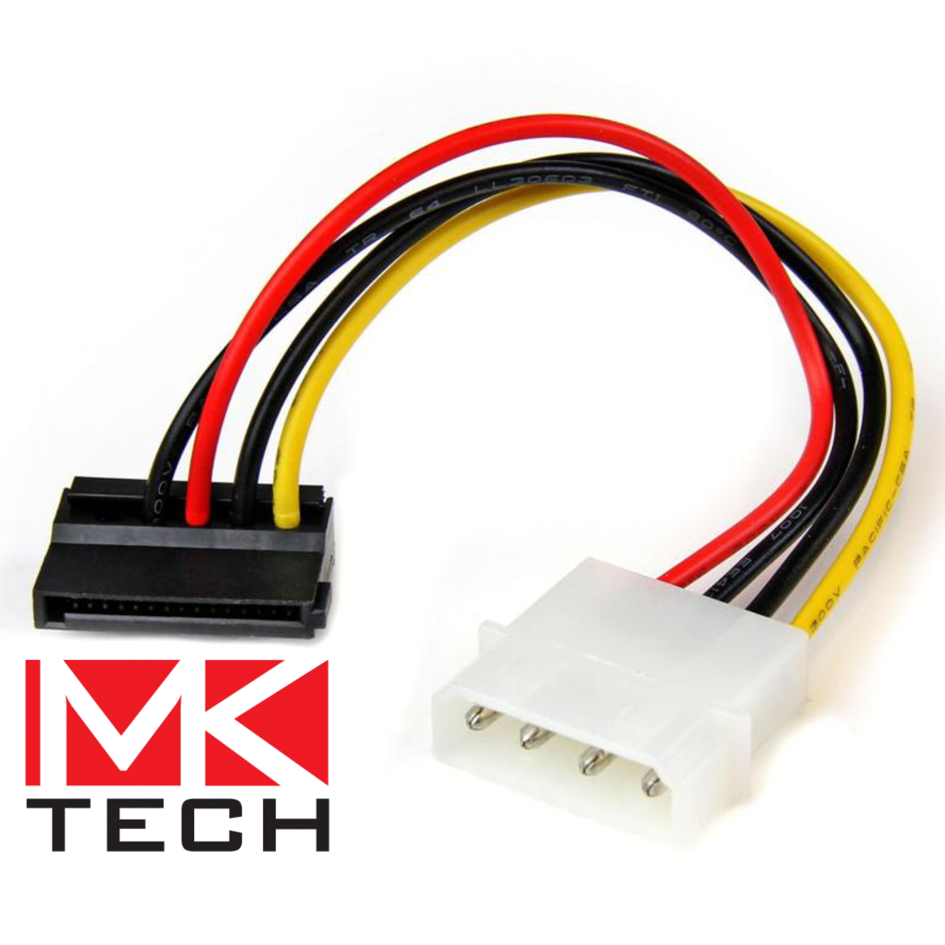 Molex to SATA Power Converter Cable MKTECH