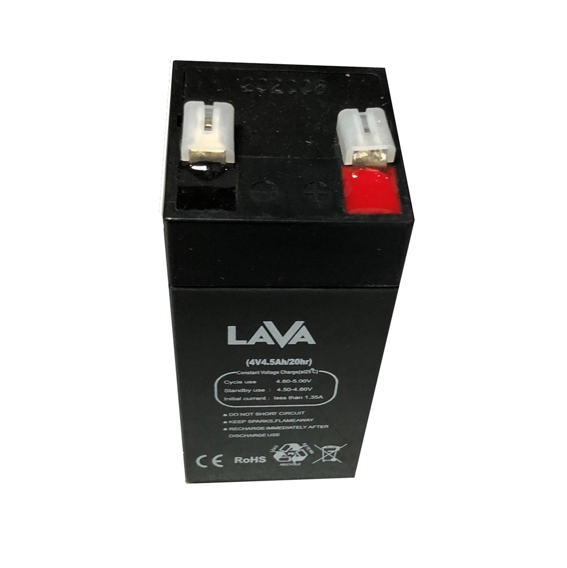 Оловна батерия  4 V/4.5 Ah LaVa