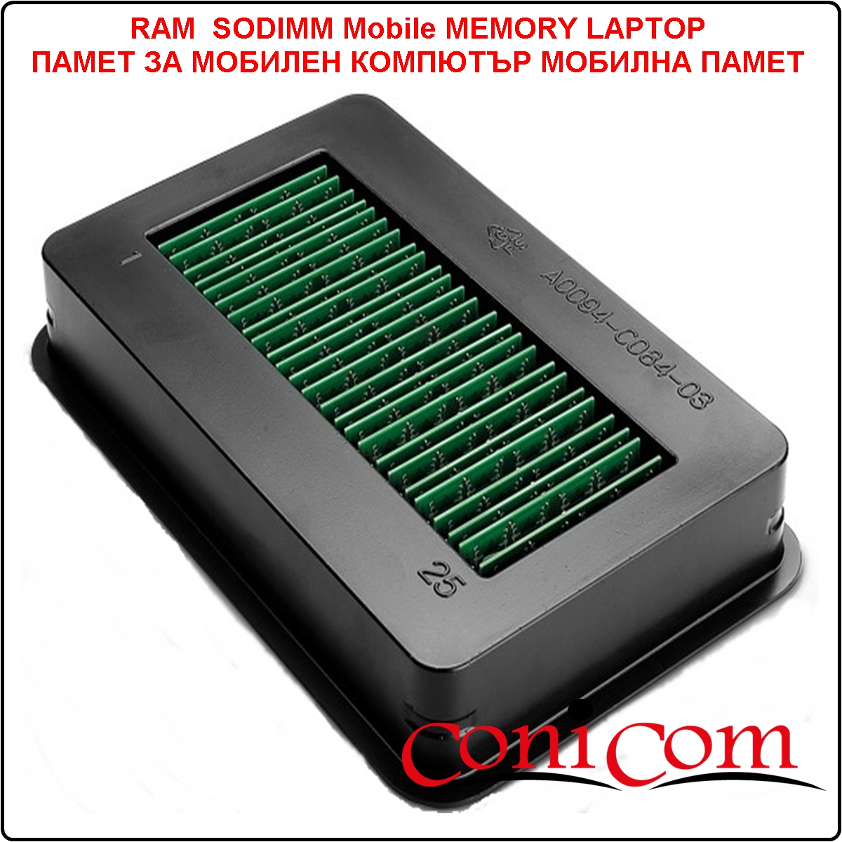 Памет Mini-SODIMM   512 MB DDR PC3200/400