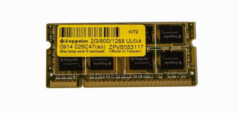 Памет SODIMM DDR II  2 GBI 800 Zeppelin