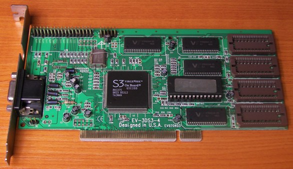 PCI 4MB SC VIRGE/DX 86C375