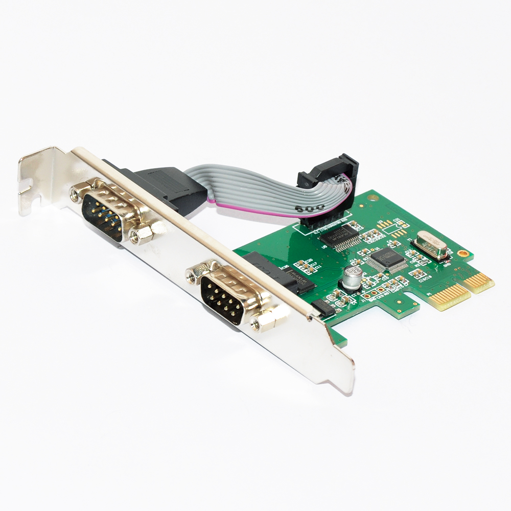 PCI-E to Serial 2 ports High Profile MKTECH