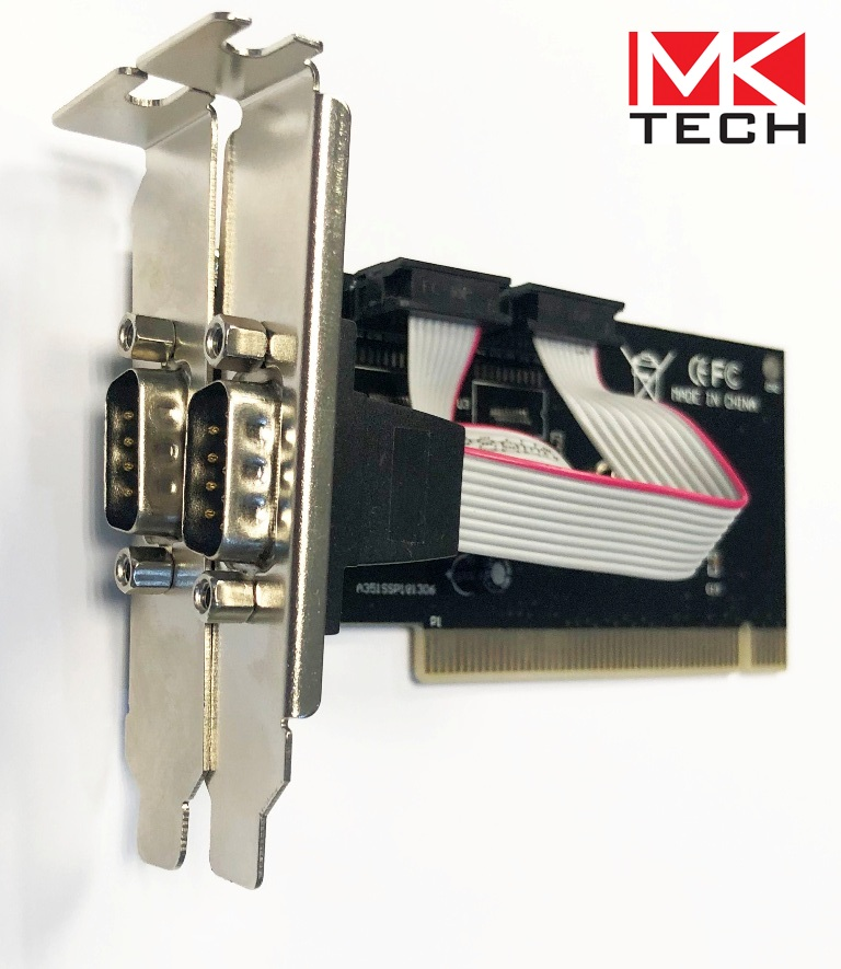 PCI to Serial 2 ports Low Profile MKTECH