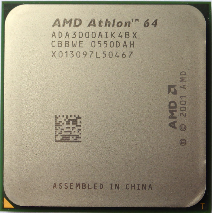 Процесор AMD Socket 754 Athlon 64 3000+