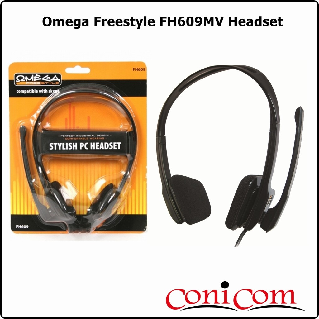Слушалки с микрофон Omega Freestyle FH609MV