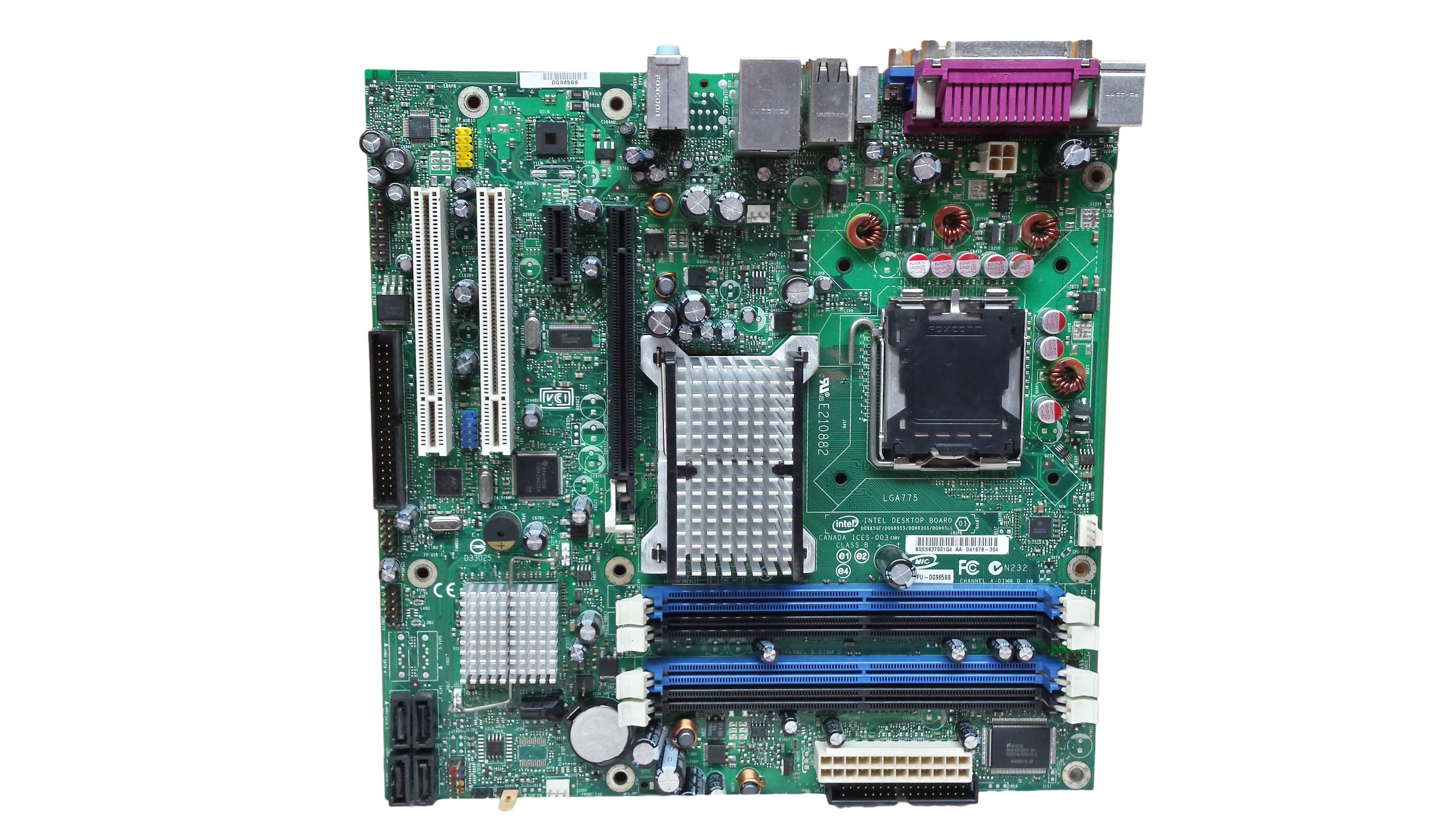 Socket 775 Intel DG965SS,DDR2