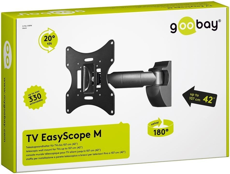 "Стенна стойка GOOBAY 42 "" 51894 TV EasyScope M"
