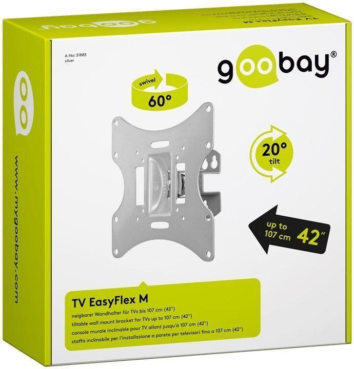 Стенна стойка (GOOBAY 51883 TV EasyFlex M)