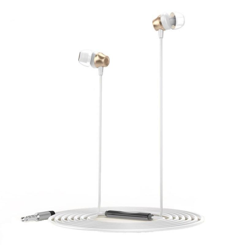 Стерео слушалки с микрофон Golf GF-M14 Gold