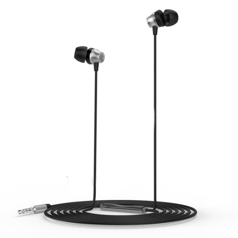 Стерео слушалки с микрофон Golf GF-M14 Silver