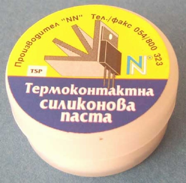 Термоконтактна паста TSP (10g)